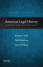 Best american legal history cases and materials Reviews