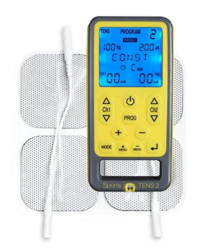 TensCare Sports TENS Electroestimulador 2canales TENS/EMS/masaje