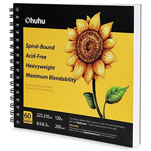 Marker Pads Art Sketchbook, Ohuhu 8.9