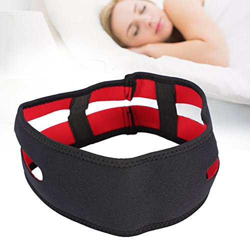 Snarkskydd mot snarkande bandage, snarkproppsrem, hjälper mot snarkning av chlafapnea, näsdilatator av medicinskt material, hak- och käftstödsbälte