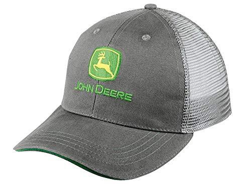 John Deere Mesh Cap Antracite