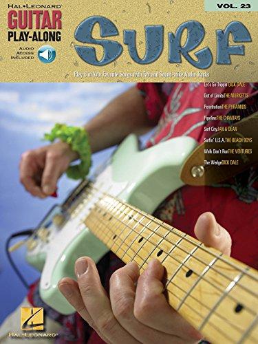 GUITAR PLAY ALONG - Vol. 23: Surf para Guitarra Tab (Inc.CD)