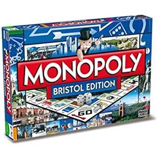 Winning Moves Bristol Monopoly Board Game