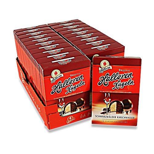 Halloren Kugeln Schwarzwälder Kirsch 20er Pack (20 Packungen à 125 g)