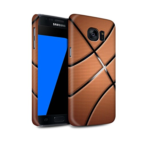 Stuff4® Matte Snap-On Hülle/Case für Samsung Galaxy S7/G930 / Basketball Muster/Sport Bälle/Ball Kollektion