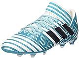 adidas Nemeziz Messi 17.3 FG J, Zapatillas de Fútbol Unisex Niños, Multicolor (FTWR White/Legend Ink/Energy Blue), 34 EU