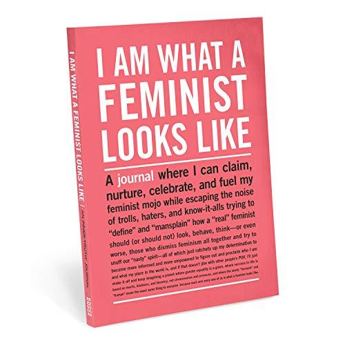 Knock Knock Diário I Am What A Feminist Looks Like Inner-Truth (Grande, 18 x 24 cm)
