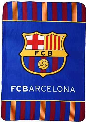Oficial Barcelona F.C. Manta Polar Supersuave