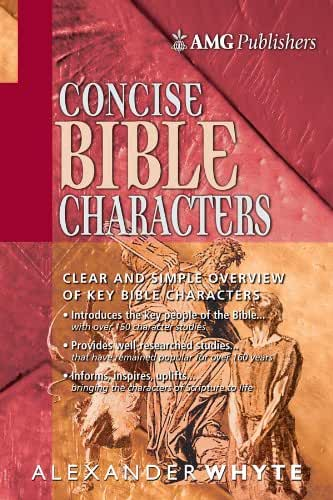 AMG Concise Bible Characters (AMG Concise Series) (English Edition)
