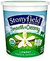 Stonyfield Organic Low Fat French Vanilla Yogurt, 32 oz