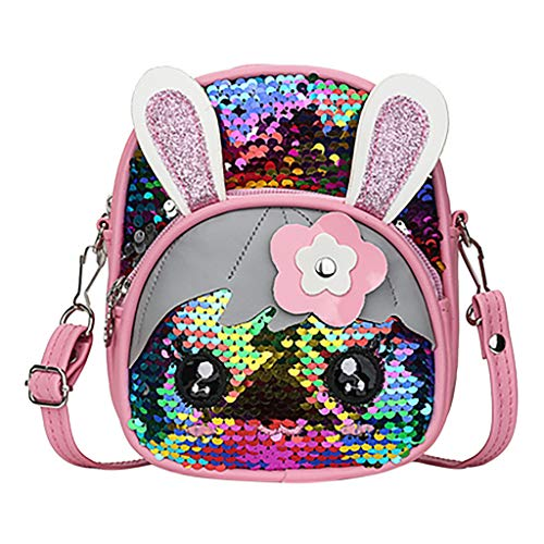 VJGOAL meisjesrugzak school kleine mode pailletten lief cartoon tas schooltas backpack girl school klein