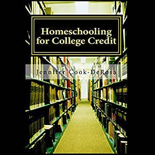 Homeschooling for College Credit audiobook cover art