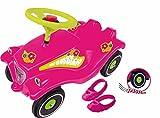 BIG Spielwarenfabrik 800056103 Big Bobby Car, Flower Power mit Schuhschoner...*