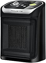 Rowenta SO9265F0 Mini Excel Eco - Calefactor cerámico de rápido calentamiento con potencia regulable de 1.000 W 1.800 W, termostato, función Eco, función silence solo 49 dBA