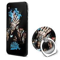 Wiz Khalifa Iphone X ケース スマホケース リング付き 全面保護 軽量 360°回転 耐衝撃 スリム 薄型 滑り止め おしゃれ ワイヤレス充電対応 指紋防止 擦り傷防止 落下防止 黄変防止 アイフォン スタンド機能