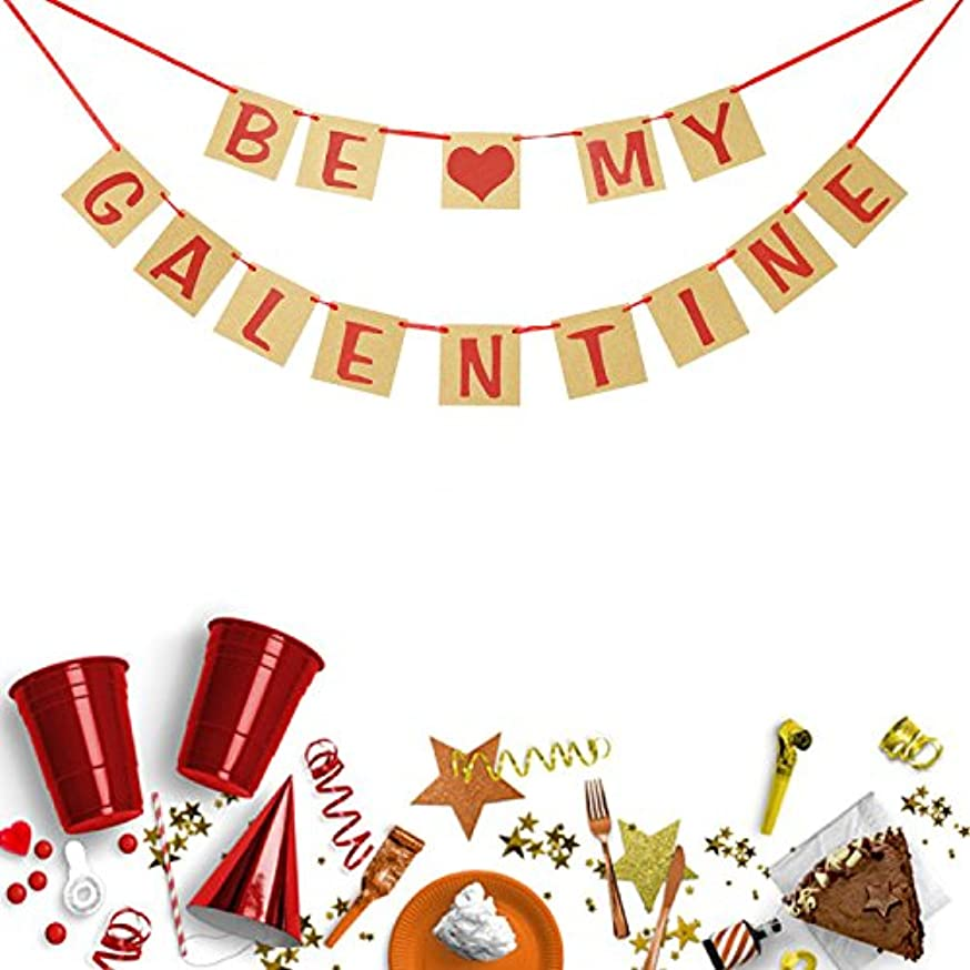 Valentines Day Decorations | BE My GALENTINE Banner Bunting Garland |?Valentine Photo Prop |?Galentines Day Party Favors |?Ladies Celebrating?Decor