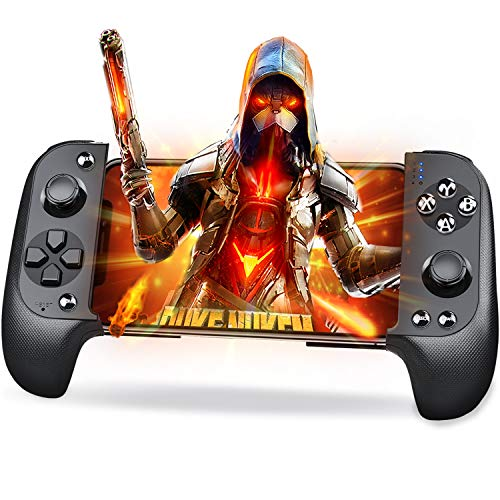 Mobile Game Controller, Mobile Controller für PUBG Mobile und Android Game Controller für Android/iOS/iPhone/iPad