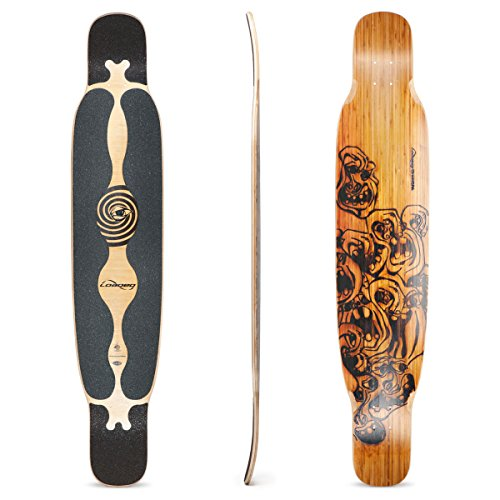 Loaded Boards Bhangra Bamboo Longboard Skateboard Deck (Flex 1)