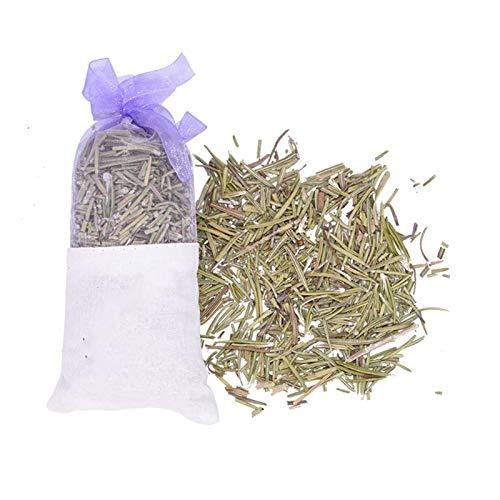 1 Stück 13 * 6,5 Cm Natürliche Getrocknete Blume Sachet Lavendel Rose Jasmin Rosmarin Duftende Taschen Home Crafts Auto Home Anfrischer Mädchen Geschenke (Color : B04 Rosemary)