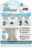 TubShroom Tub Hair Catcher Drain Protector, Fits 1.5'-1.75', Gray