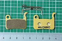 MicrOHERO シマノ M06 M06Ti M07 M07S M07Ti 互換 LX/HONE/XT/XTR用 ディスクブレーキパッド メタルパッド