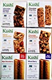 KASHI Snack Bars ULTIMATE VARIETY PACK: 1 Box Each of: CHOCOLATE PEANUT BUTTER, GRANOLA & SEED CHOCO...
