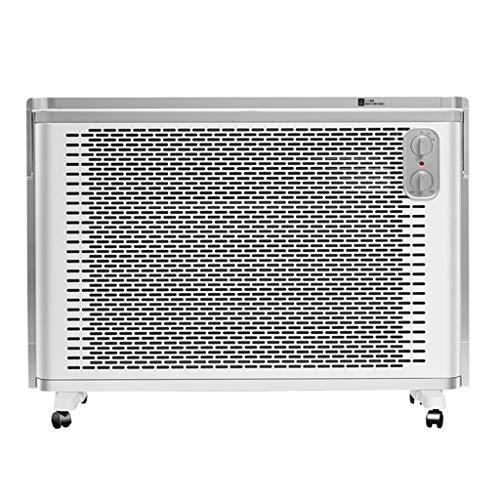 Hkwshop Space Heater Draagbare elektrische verwarmingstoestellen, voor kantoor en quiet, met omkiepen, oververhittingsbeveiliging, voor thuis, snelle verwarming