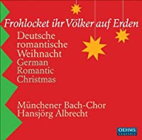 German Romantic Christmas by Munchener Bach-Chor (2009-10-27)