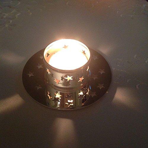 PartyLite Weihnachts-Kerzenhalter, Weihnachtsdekoration, leuchtender Stern