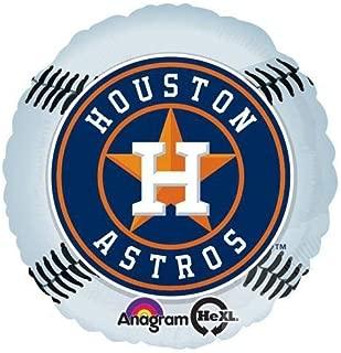 Anagram 27340 MLB Houston Astros Baseball Team Foil Balloon, 18