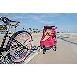 PETIQUE Bike Adapter for All Terrain Jogger Pet Stroller Bike Adapter, Black, One Size (BA01000000) 8