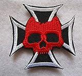 German Cross Skull...image