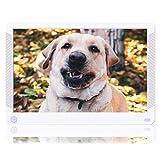 Digital Photo Frame Melcam 10 Inch 1920x1080 High Resolution 16:9 Full IPS Display