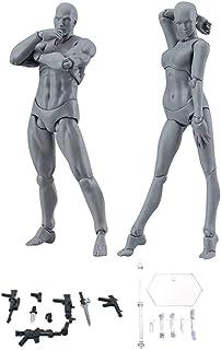 Espeedy Modelo del cuerpo,2 piezas/Set cuerpo luz PVC Movebale figura acción modelo para SHF versión 2,0 regalos--- con armas,base,mano y pie