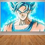 tzxdbh Anime Poster Goku Gohan Kinder Baby Room Poster Japanische Wandkunst Cavnas Malerei...