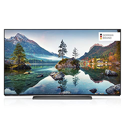 METZ Blue 55MOC9001 55 Zoll Smart OLED UHD Fernseher (139 cm) mit Android TV (Triple Tuner, Android 10.0, Netflix, YouTube, Prime Video, Disney+, HDMI, CI-Slot, USB, digital Audio)