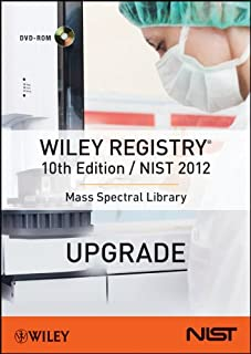 Wiley Registry 10th Edition / NIST 2012 Mass Spectral Library (Upgrade)