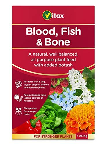Vitax Ltd Blood Fish & Bone Fertiliser, 1.25kg