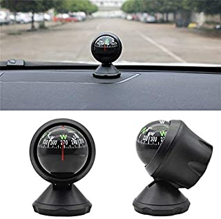 Practical Car Boat Mini Dashboard Suction Mount Navigation Compass Pocket Hiking Direction Guide Ball for Replaceable Parts Suction Compass Ball