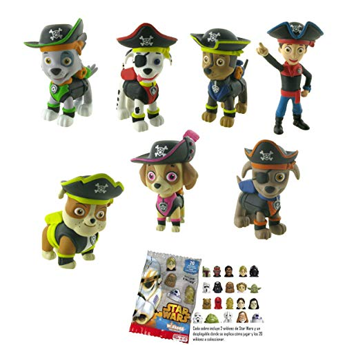 8er set Action figuras coleccionables Chase Skye Marshall Paw Patrol personajes 6cm