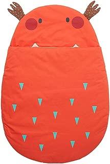Baby Sleeping Bag Cotton Blankets Baby Kids Sleep Sack Stroller Wrap Blanket for 0-18 Month Baby Children's Sleeping Bag (Color : Orange)