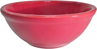 CAC China LV-15-R 5-5/8-Inch Las Vegas Rolled Edge Stoneware Nappie Bowl, 12-1/2-Ounce, Red, Box of 36