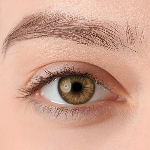 Stark deckende, natürliche Kontaktlinsen in der Farbe Passion Brown, aus der PREMIUM Kollektion geeignet für dunkle Augen, Silikon Hydrogel der Marke LUXDELUX