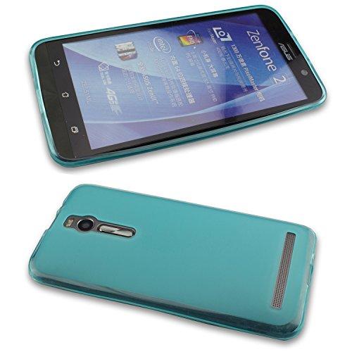 caseroxx TPU-Hülle für Asus ZenFone 2 ZE551ML, Tasche (TPU-Hülle in blau)