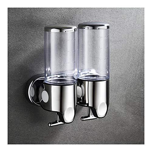 Muur zeepdispenser 500 ml plastic shampoo douchegel gel handwas keuken badkameraccessoires 1000ml 4