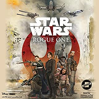 Star Wars: Rogue One audiobook cover art
