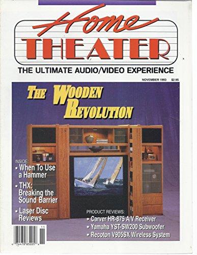 Home Theater Magazine (November 1993)