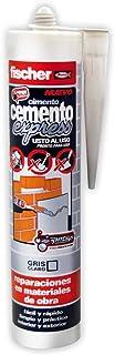 Fischer 512352 Cemento Express Gris Claro 310 Ml/ (Cartucho