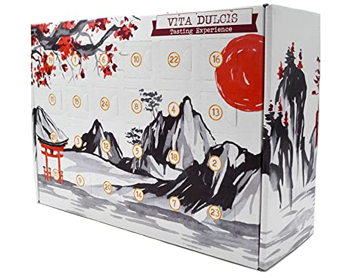 Whisky Adventskalender Japan Edition 2021 - Vita Dulcis - 24x0,02l