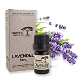rooted.® - 5ml Lavendelöl - 100% naturreines ätherisches Lavendelöl (Lavandula Angustifolia) -...